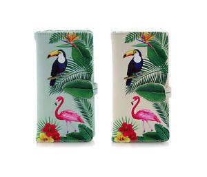 Shagwear Tropical Paradise Large Zipper Women's Wallet