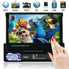 Car Single 1 DIN Stereo MP5 MP3 Player 7