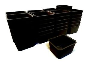 (Pack of 50) Black Cage Cups hold 1 Pint / 16 fl oz to Hang Feed & Water for Pet