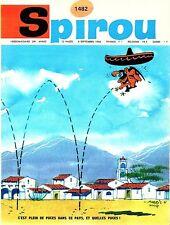 ▬► Spirou Hebdo - n°1482 du 8 Septembre 1966 - SANS mini-récit TBE