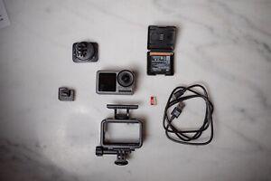 DJI Osmo Action Cam - Digitale Actionkamera mit 2 Bildschirmen 11m wasserdicht