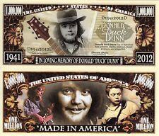 """Donald """"Duck"""" Dunn - In Memory of Million Dollar Novelty Money"""