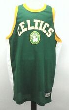 CELTICS Jersey Mens SHIRT VINTAGE NBA HARDWOOD CLASSICS Majestic USA Green 3XL