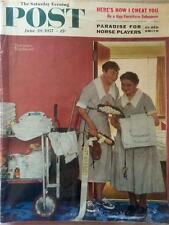 The Saturday Evening Post June 29, 1957 Norman Rockwell Cover - FULL MAGAZINE
