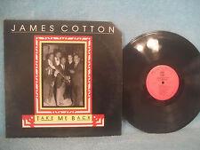 James Cotton, Take Me Back, Blind Pig BP 2587, 1987. Chigago Blues, Harmonica