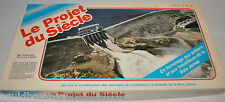 LE PROJET DU SIECLE BAIE JAMES Dam Vintage BOARD GAME 1980s -rj