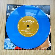 "Freddie Mercury Queen Time Unplayed Blue Coloured Vinyl 7"" single"