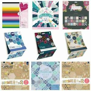 Papermania Craft Paper & Pads A4 Decoupage Lace Paper Themed Coloured Choose