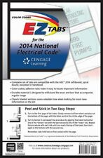 Color Coded EZ Tabs for the 2014 National Electrical Code, New, Free Shipping