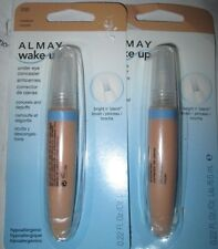 2 New Almay Wake Up Under Eye Concealer 030 MEDIUM hypoallergenic Corrector