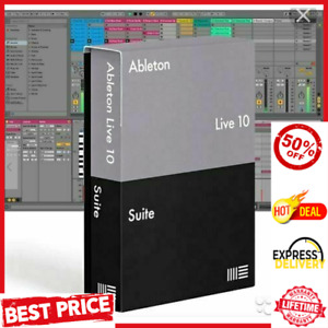 Ableton Live 10 Suite Lifetime Version ✅ MAC & Windows ✅ Fast Delivery 🚀+GIFT✔️
