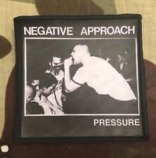 Negative Approach Pressure Printed Patch N011P Cro Mags Agnostic Front Void
