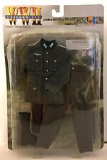"Dragon WWII M36 German FIELD UNIFORM Private Schutze NIB #71003 12"" G.I. Joe 1/6"