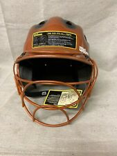Wilson Baseball Youth Helmet With Face Mask Guard