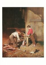 Postcard Charles Caleb Ward Force & Skill 1869 Currier Museum of Art NH MINT