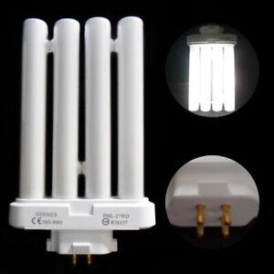 27W FML27EX-N 6500K 4 Pin Quad Tube Light Bulbs Compact Fluorescent Lamp Tube