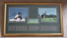 More details for ryder cup kings pictures signed by padraig harrington and rory mcilroy