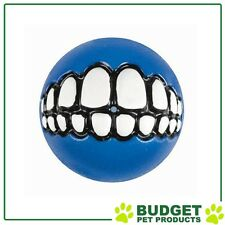 Rogz Grinz Ball Blue Medium For Dogs 64mm