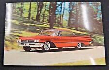 Vintage Postcard 1962 Buick Invicta Turbine Drive Titian Red Fast Wildcat 445
