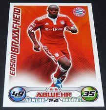 EDSON BRAAFHEID BAYERN MÜNCHEN TOPPS PANINI FOOTBALL BUNDESLIGA 2009-2010