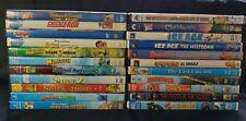 DVD Movie Lot (22) Animated Cartoon Family Kids Children DreamWorks Lego Wallace
