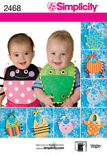 SEWING PATTERN SIMPLICITY 2468 BABY BIDS ONE SIZE