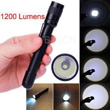 1200 Lumens Mini Flashlight CREE XPE-R3 LED Lamp Clip Penlight Flashlight Torch