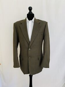 Mens Jacket Blazer Chest 40 Regular Brown Country Tweed Style Smart Casual P49