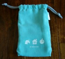 Club Nintendo Animal Crossing Blue Drawstring Pouch Bag *Nice *Fast Shipping!