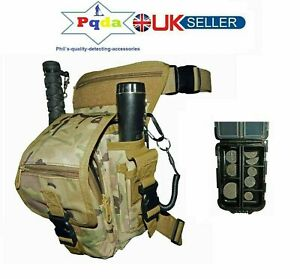 Latest Model Metal Detecting Detector HEAVY DUTY Finds Bag Pouch+Small Finds Box