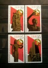 Germany - DDR Sc. 1639-1642 30th Anni. Liberation From Fascism 1975 -  MNH