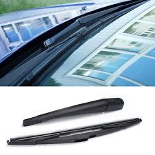 For Peugeot 207 SW Estate Rear Window Windscreen Windshield Wiper Arm Blade Kit