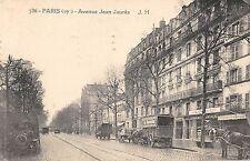 CPA 75 PARIS XIXe AVENUE JEAN JAURES