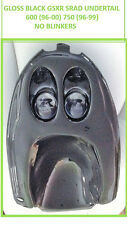 NO BLINKERS- BLACK PLASTIC SUZUKI GSXR SRAD UNDERTAIL 600(96-00)750(96-99) - NEW