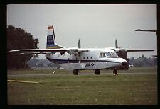 Orig 35mm airline slide CASA 212 demonstrator ECT-131 [212-2]