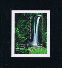 Samoa Waterfall Stamp Souvenir Sheet Issue