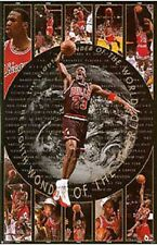 1997  Michael Jordan 8th Wonder Chicago Bulls Original Costacos Poster OOP