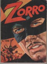 LA FRUSTA DI ZORRO N.8 (?) LA VALLE DELL'ORO daniele cerretti editore 1969