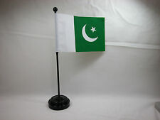 "Closeout 4""x6"" Hand Held Table Top Flags International Country Flag - Pakistan"
