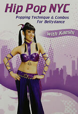 Hip Pop NYC w/ Kaeshi - Popping Technique & Combos for Bellydance Instructional