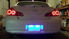 Blue LED License Plate Lights For Infiniti Q50 Q50S