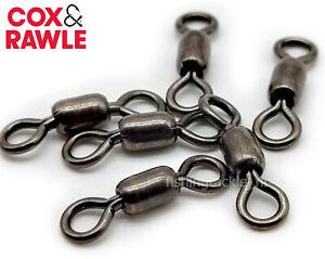 Cox & Rawle Power Crane Swivels Stainless Steel Black Nickel Fishing Swivel