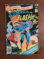 Dc Comics Presents #1 (1978) 7.5 VF DC Key Issue Bronze Age Comic Superman Flash