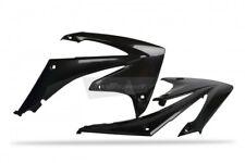 New CRF 250 R 10-13 CRF 450 09-12 Radiator Rad Scoop Shroud Plastics Black Pair