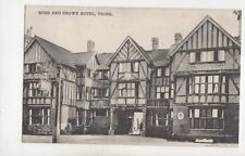 Rose And Crown Hotel Tring Hertfordshire Vintage Postcard DeFraine 496b