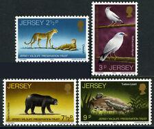 Maillot de bain UMM Stamp Set 1972 SG 73-76 Wildlife Preservation Trust
