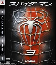 Used PS3 Spider-Man 3 SONY PLAYSTATION 3 JAPAN JAPANESE IMPORT