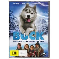 DVD Buck The Call of The Wild Christopher Lloyd 2009 Dog Wolf Adventure R4 BNS