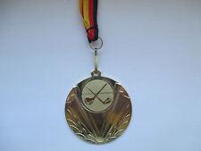 Medaillen Minigolf Kinder Medaillen 70mm Emblem 50mm mit Deutschland-Bändern Pokal Turnier