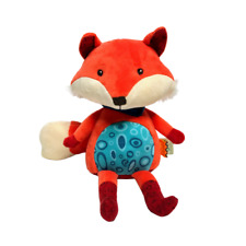 Happy Yappies Toys B Talking Teddy Toy Repeats What... Pipsqueak The Fox